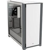 Corsair 5000D Tempered Glass White - Számítógépház