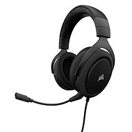 Corsair HS50 Stereo Carbon - Gamer fejhallgató