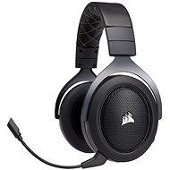 Corsair HS70 Wireless Carbon - Gamer fejhallgató