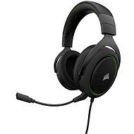 CORSAIR HS50 STEREO Green - Gamer fejhallgató
