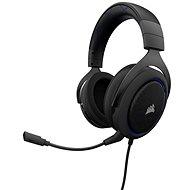 CORSAIR HS50 STEREO Blue - Gamer fejhallgató