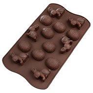TAVASZI szilikon sütőforma 27×15,5 cm - barna - Sütőforma