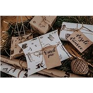 Be Nice természetes karácsonyi csomagolópapír - Csomagolópapír