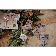 Be Nice karácsonyi névcímkék (10 db) - Ajándék csomagoló