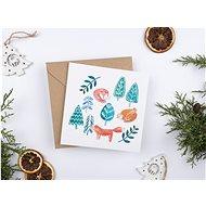 Be Nice karácsonyi üdvözlőlap - Gyerekek - Ajándék kísérő kártya