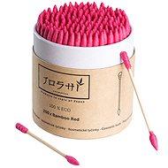 JOSHI Bamboo Red (200 db) - Fültisztító pálcika