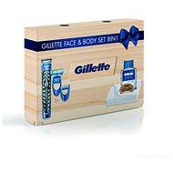 GILETTE Wood Box - Kozmetikai ajándékcsomag