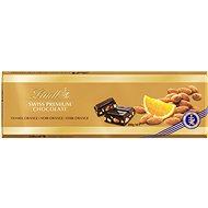 LINDT Sötét narancsos mandula Gold 300 g - Csokoládé