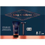 KING C. GILLETTE Beard Care Set - Kozmetikai ajándékcsomag