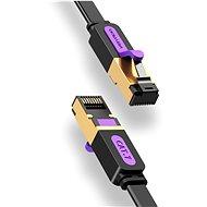 Vention Flat Cat.7 Patch Cable 2m Black - Hálózati kábel