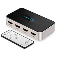 Vention 3 In 1 Out HDMI Switcher Gray Metal Type - Switch