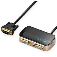 Vention 1 In 2 Out VGA Splitter 1m Black