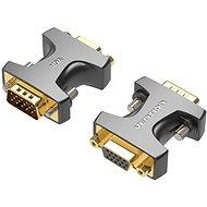 Vention VGA Male to Female Adapter Black - Átalakító