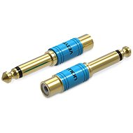 Vention 6.3mm Male Jack to RCA Female Audio Adapter Gold - Átalakító