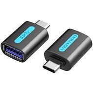 Vention USB-C to USB 3.0 Female OTG Adapter Black PVC Type - Átalakító