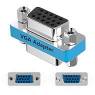 Vention VGA Female to Female Adapter Silvery Metal Type - Vezeték összekötők