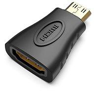 Vention Mini HDMI (M) to HDMI (F) Adapter Black - Átalakító
