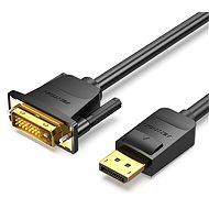 Vention DisplayPort (DP) to DVI Cable 2m Black - Videokábel