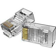 Vention Cat.5E UTP RJ45 moduláris csatlakozó átlátszó 100 csomag - Csatlakozó