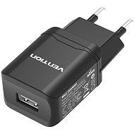 Hálózati adapter Vention Smart USB Wall Charger 10.5W Black