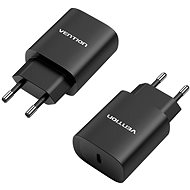 Vention USB-C Wall Charger 20 W Black - Hálózati adapter