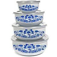 BANQUET edénykészlet kék hagymamintás A03650 - Ételtartó szett