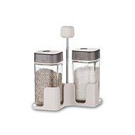 BANQUET QUADRA só- és borsszóró szett 100ml, 3 db, szürke - Asztali készlet