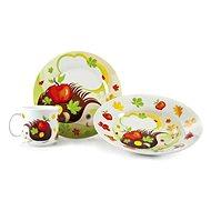 BANQUET 3 darabos baba étkészlet, sün A02727 - Gyerek étkészlet