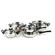 Apetit 10 darabos rozsdamentes acél edénykészlet A03051 - Edénykészlet