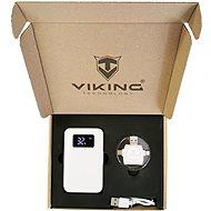 Viking ajándékcsomag Powerbank GO10 fehér + Memóriakártya-olvasó 4in1 - Powerbank