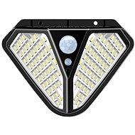 Viking kültéri napelemes LED-es fény VIKING Z102 mozgásérzékelővel - Kültéri világítás