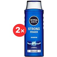 NIVEA Men Strong Power 2 x 400 ml sampon