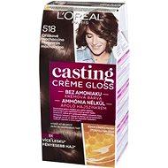 ĽORÉAL CASTING Creme Gloss 518 mogyorós mochaccino - Hajfesték