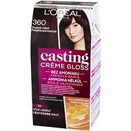 L'ORÉAL CASTING Créme Gloss 360 Tartós hajszínkrém, fekete cseresznye - Hajfesték