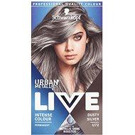 SCHWARZKOPF Live Urban Mettalics U72 Dusty Silver - Hajfesték