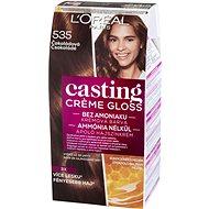 L'ORÉAL CASTING Créme Gloss 535 Tartós hajszínkrém, csokoládé