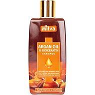 MILVA Argán olaj és Biokeratin 200 ml - Természetes sampon