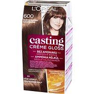 L'ORÉAL CASTING Créme Gloss 600 Tartós hajszínkrém, sötétszőke