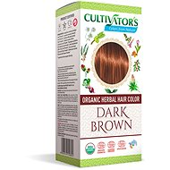CULTIVATOR Natural 8 sötétbarna (4 × 25 g) - Természetes hajfesték