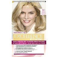 L'ORÉAL PARIS Excellence Creme 9.1 nagyon világos hamvasszőke hajfesték