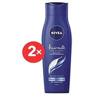 NIVEA Hairmilk Shampoo Normal 2× 400 ml
