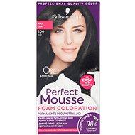 SCHWARZKOPF Perfect Mousse Tartós hajszínező hab 200, fekete, 35ml - Hajfesték