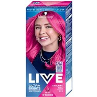SCHWARZKOPF LIVE Color XXL féltartós hajfesték 93 Shocking Pink, 50ml