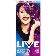 SCHWARZKOPF LIVE Color XXL féltartós hajfesték 94 Purple Pink, 50ml - Hajfesték
