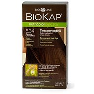 BIOKAP Nutricolor Delicato, Honey Chestnut Gentle Dye, 5.34, 40 ml