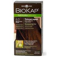 BIOKAP Nutricolor Delicato, Dark Golden Blond Gentle Dye, 6.30, 140 ml - Természetes hajfesték