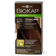 BIOKAP Nutricolor Delicato, Dark Blond Havana Gentle Dye, 6.06, 140 ml