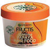 Hajpakolás GARNIER Fructis Papaya Hair Food 390 ml - Maska na vlasy