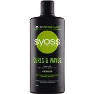 SYOSS Curls & Waves Shampoo 500 ml - Sampon