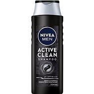 NIVEA Men Active Clean Care Shampoo 400 ml - Férfi sampon